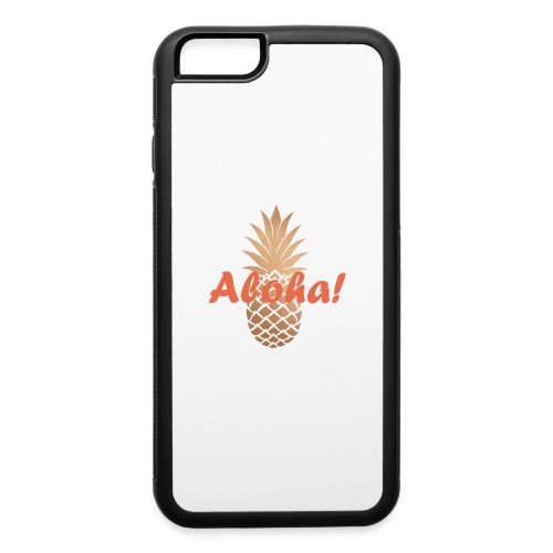 piña dorada - iPhone 6/6s Rubber Case