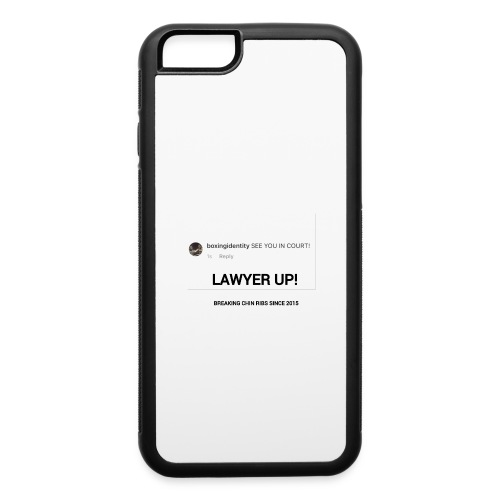 Boxing Identity - iPhone 6/6s Rubber Case