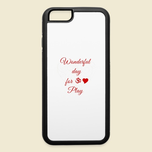 108-lSa Inspi-Shirt-85.b ... for OM-Love Play - iPhone 6/6s Rubber Case