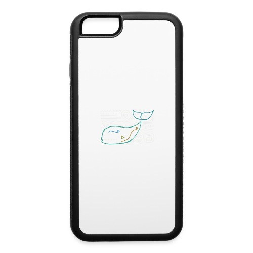 Ancient whale - iPhone 6/6s Rubber Case