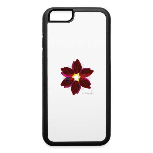 Collage Style Flower - iPhone 6/6s Rubber Case