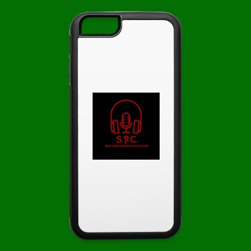 SPC Logo Black/Red - iPhone 6/6s Rubber Case