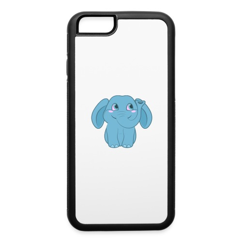 Baby Elephant Happy and Smiling - iPhone 6/6s Rubber Case