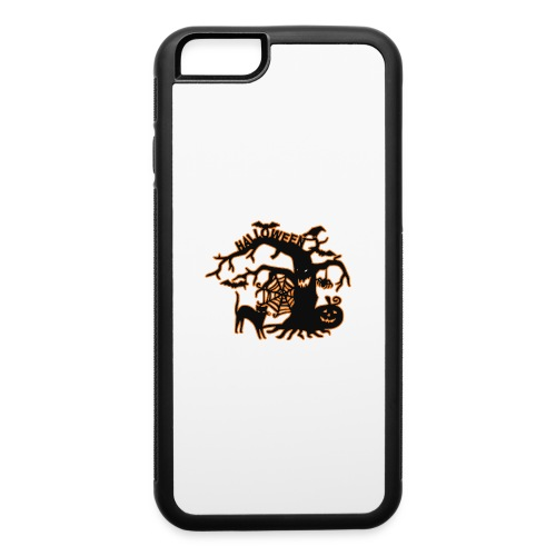 Halloween tree - iPhone 6/6s Rubber Case