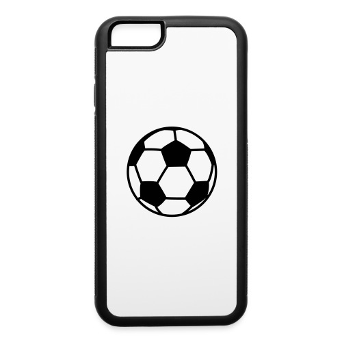 custom soccer ball team - iPhone 6/6s Rubber Case