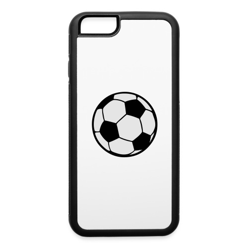 Custom soccerball 2 color - iPhone 6/6s Rubber Case