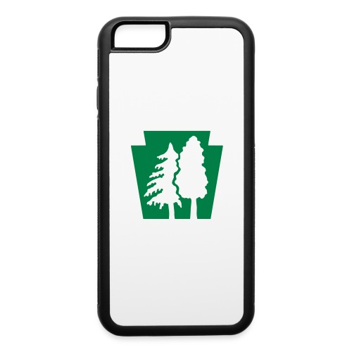 PA Keystone w/trees - iPhone 6/6s Rubber Case