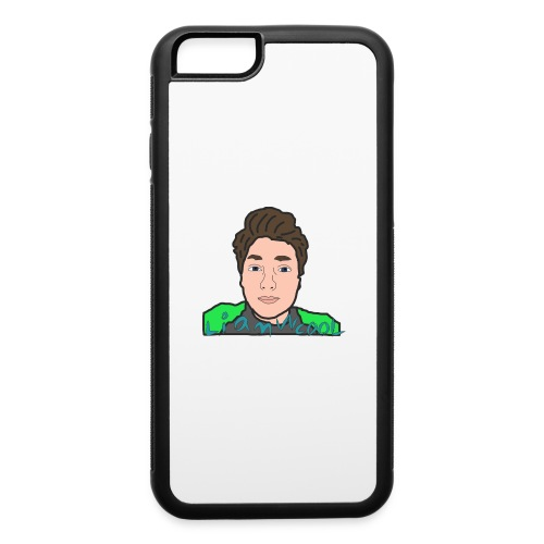 LiamWcool head tee - iPhone 6/6s Rubber Case