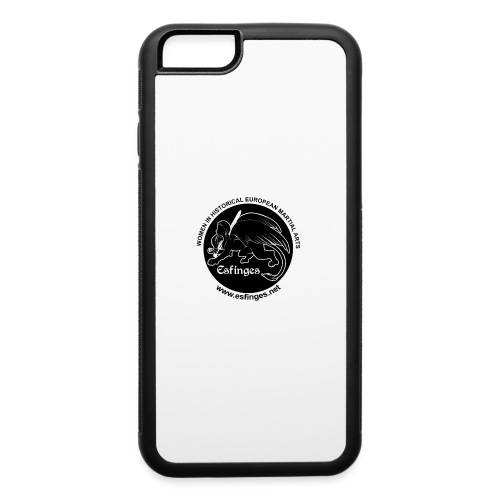 Esfinges Logo Black - iPhone 6/6s Rubber Case