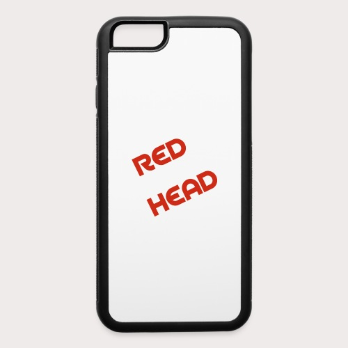 RED HEAD - iPhone 6/6s Rubber Case