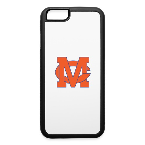 interlocking MC vector - iPhone 6/6s Rubber Case
