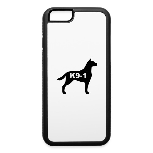 k9-1 Logo Large - iPhone 6/6s Rubber Case