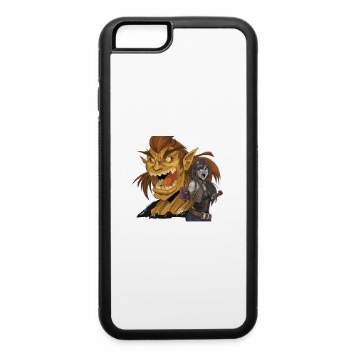 Fighter and the Demon - iPhone 6/6s Rubber Case