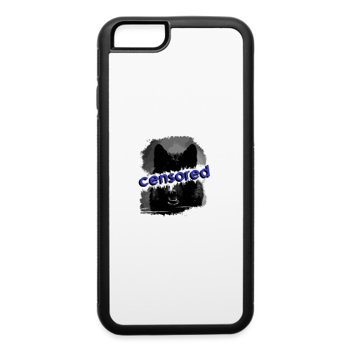 Wolf censored - iPhone 6/6s Rubber Case
