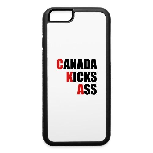 Canada Kicks Ass Vertical - iPhone 6/6s Rubber Case