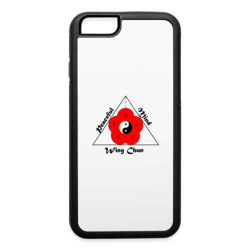 Peaceful Mind Vector - iPhone 6/6s Rubber Case