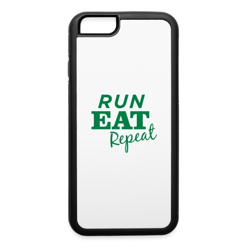 Run Eat Repeat buttons medium - iPhone 6/6s Rubber Case