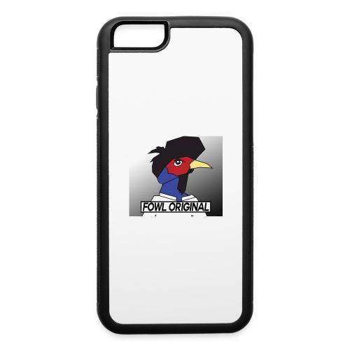 Fowl Original Logo - iPhone 6/6s Rubber Case