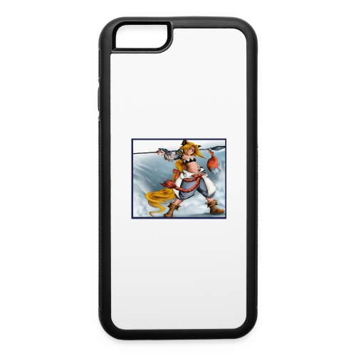 eserelda The Fox Girl - iPhone 6/6s Rubber Case