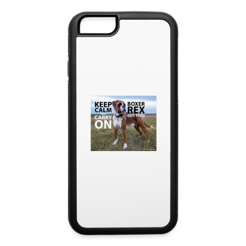 Keep calm and carry on - iPhone 6/6s Rubber Case