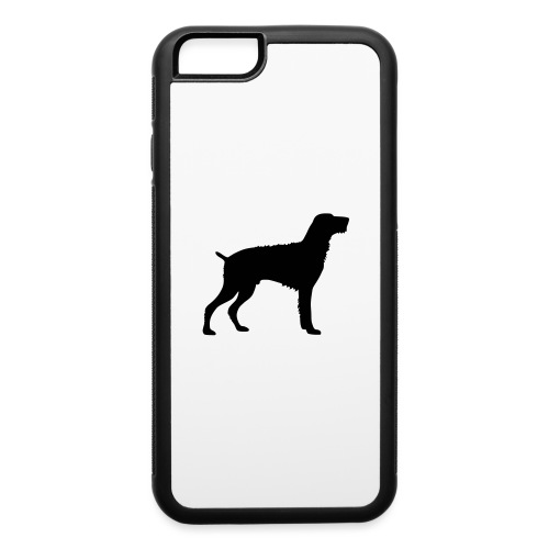 German Wirehaired Pointer - iPhone 6/6s Rubber Case