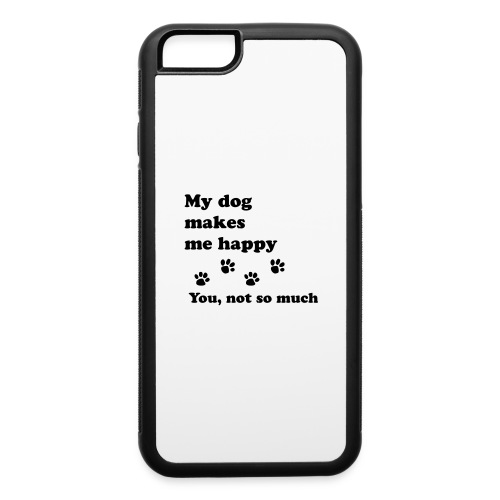 love dog 2 - iPhone 6/6s Rubber Case