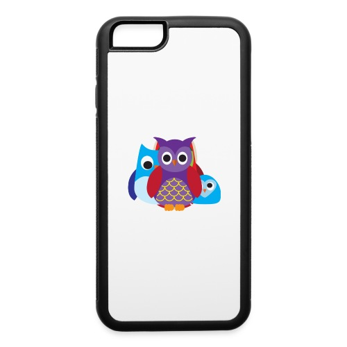 Cute Owls Eyes - iPhone 6/6s Rubber Case