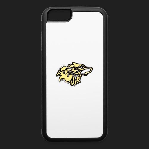wolfepacklogobeige png - iPhone 6/6s Rubber Case
