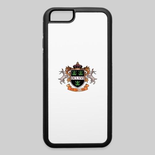 Satanic Heraldry - Coat of Arms - iPhone 6/6s Rubber Case