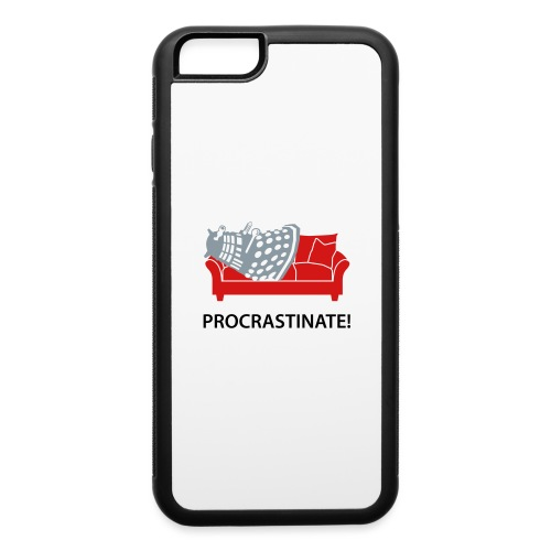 Dalek Procrastinate - iPhone 6/6s Rubber Case