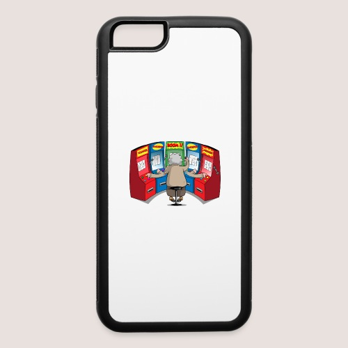 THE GAMBLIN' GRANNY - iPhone 6/6s Rubber Case