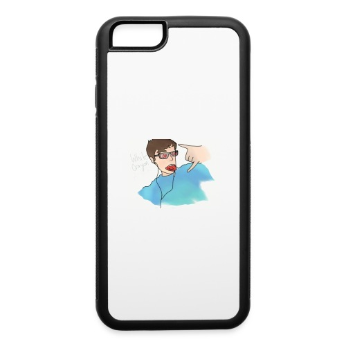 Cool Guy White Crayon Mr. Blend - iPhone 6/6s Rubber Case
