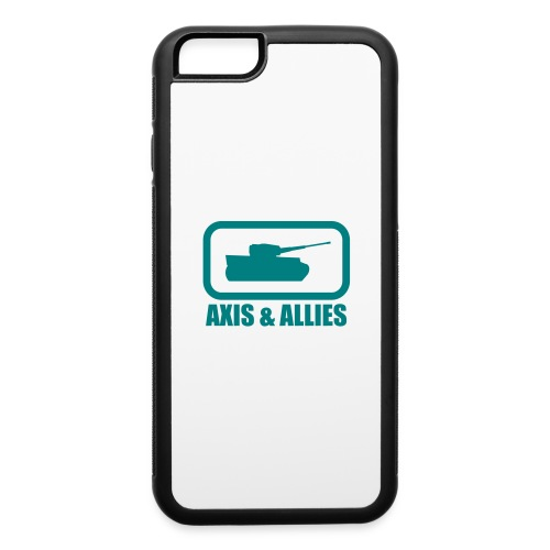 Tank Logo with Axis & Allies text - Multi-color - iPhone 6/6s Rubber Case