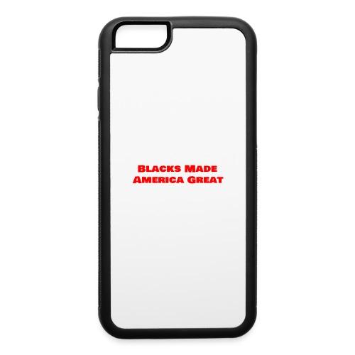 (blacks_made_america1) - iPhone 6/6s Rubber Case