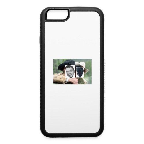 Darien and Curtis Camping Buddies - iPhone 6/6s Rubber Case