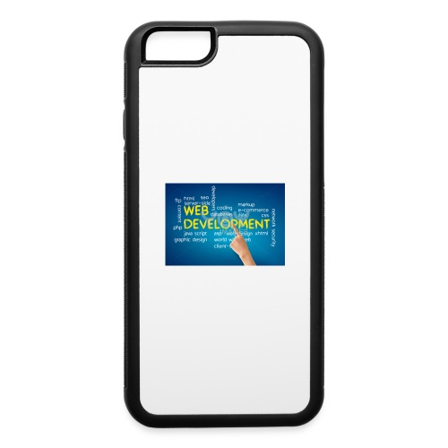 web development design - iPhone 6/6s Rubber Case