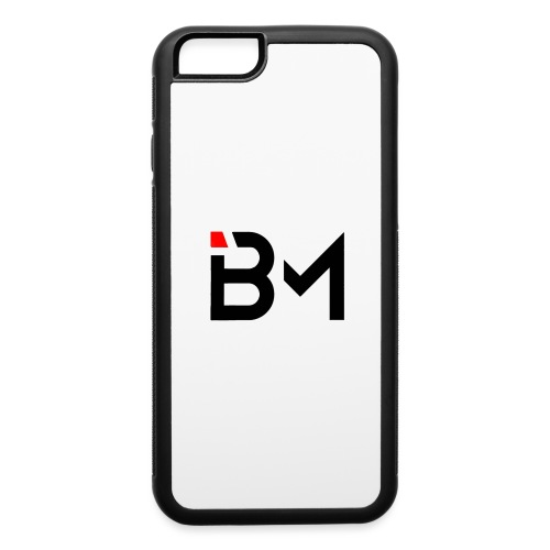 bench mob logo no lettering (black) - iPhone 6/6s Rubber Case