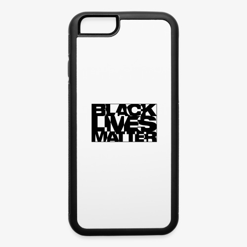 Black Live Matter Chaotic Typography - iPhone 6/6s Rubber Case