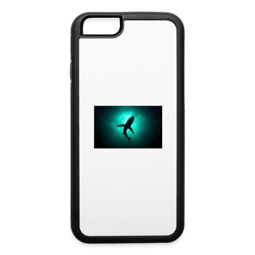 Shark in the abbis - iPhone 6/6s Rubber Case