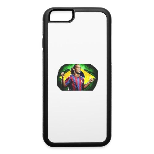 Ronaldinho Brazil/Barca print - iPhone 6/6s Rubber Case
