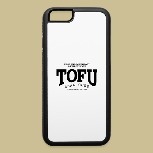 Tofu (black) - iPhone 6/6s Rubber Case
