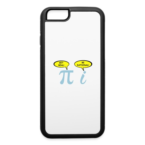 Get real Be rational - iPhone 6/6s Rubber Case