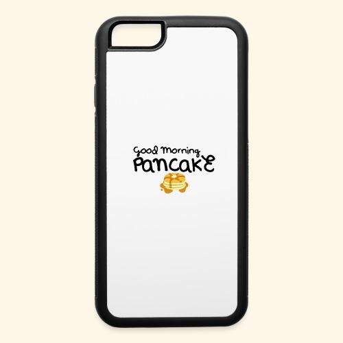 Good Morning Pancake Mug - iPhone 6/6s Rubber Case