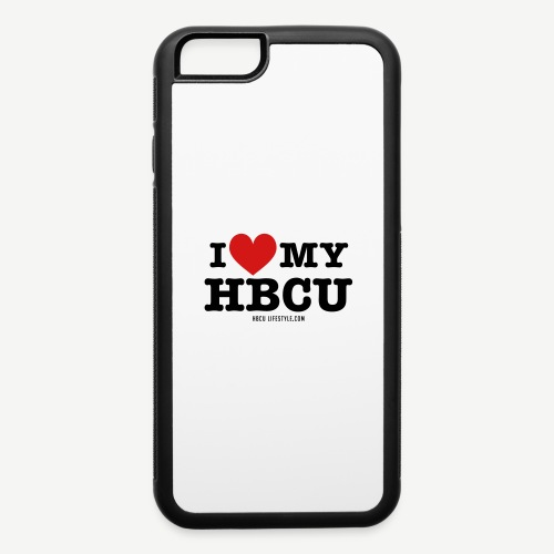 I Love My HBCU - Women's Black, Red and White T-Sh - iPhone 6/6s Rubber Case