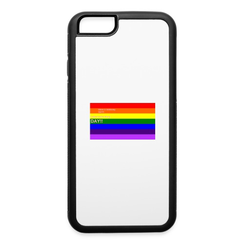 rainbowy day - iPhone 6/6s Rubber Case