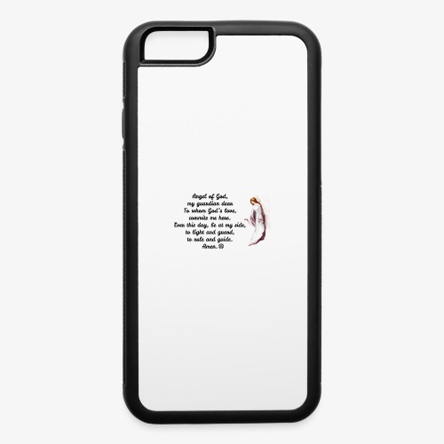 Guardian Angel prayer - iPhone 6/6s Rubber Case