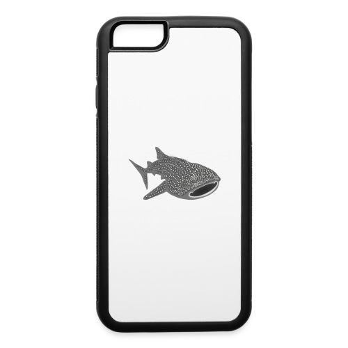 save the whale shark sharks fish dive diver diving - iPhone 6/6s Rubber Case