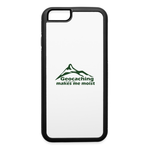 Geocaching in the Rain - iPhone 6/6s Rubber Case