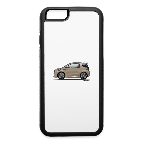 AM Cygnet Blonde Metallic Micro Car - iPhone 6/6s Rubber Case