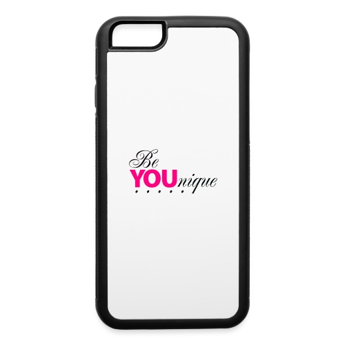 Be Unique Be You Just Be You - iPhone 6/6s Rubber Case